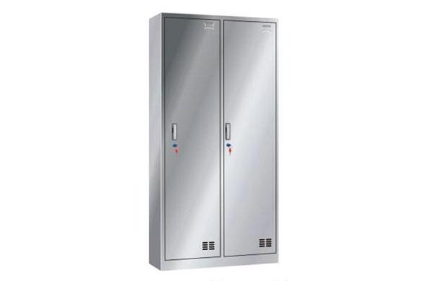 不锈钢二门更衣柜