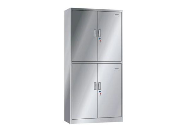不锈钢通双节柜