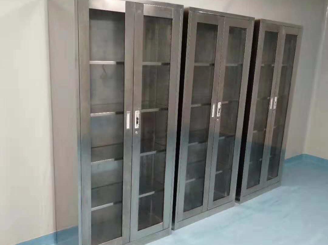 不锈钢玻璃柜